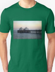 Malibu Fishing Pier Unisex T-Shirt