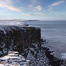 Dunnet Head in Winter, Caithness, Scotland by Martina Cross