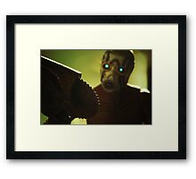 Borderlands Psycho Framed Print