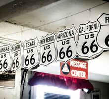 Route 66 Signs by Patito49