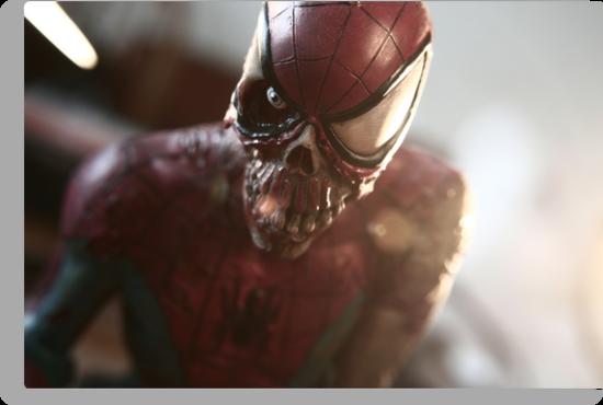 Marvel Zombie (Spider-Man) by ElDave