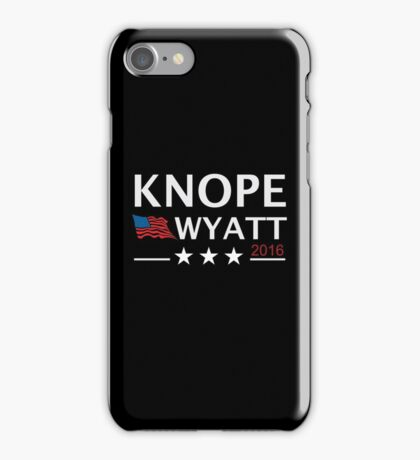 KNOPE WYATT PARKS AND RECREATION iPhone Case/Skin