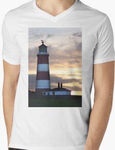The Lighthouse Mens V-Neck T-Shirt