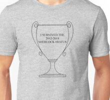 I SURVIVED THE SHERLOCK HIATUS Unisex T-Shirt