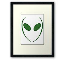 Alien 1 Green Framed Print