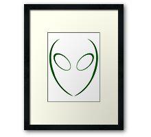 Alien 2 Green Framed Print