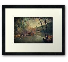 A New Day, Another Chance Framed Print