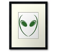 Alien 3 Green Framed Print