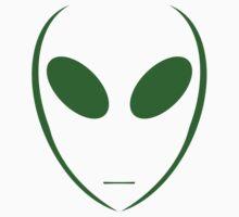 Alien 4 Green Baby Tee