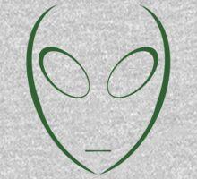 Alien 5 Green Kids Clothes