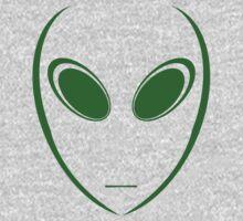 Alien 6 Green Kids Clothes