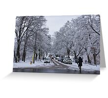 After the Ice Storm--Beautiful But Destructive Ice and Snow Greeting Card