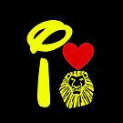 I Heart The Lion King (Inverted) by ShopGirl91706