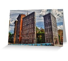 Streets of America Greeting Card