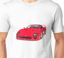 1987 Ferrari F40 Sports Car T-shirt design Unisex T-Shirt
