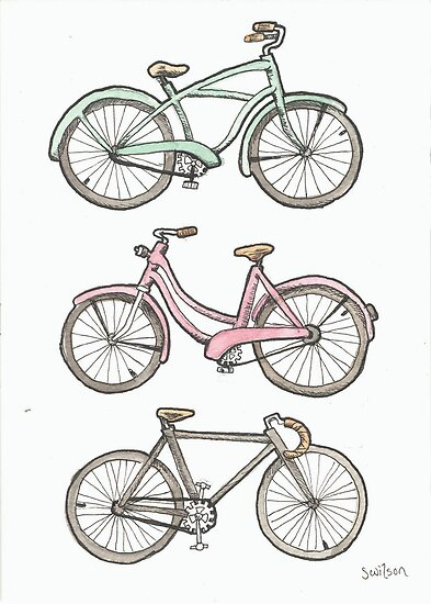 Bicycles by Sara Wilson