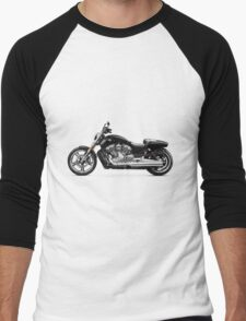 2010 Harley-Davidson VRSC V-Rod Muscle T-shirt design Men's Baseball ¾ T-Shirt
