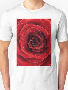 Beautiful Red Rose T-shirt design Unisex T-Shirt