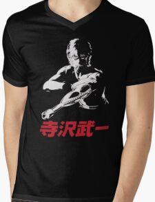 Mens Space Adventure Cobra Mens V-Neck T-Shirt