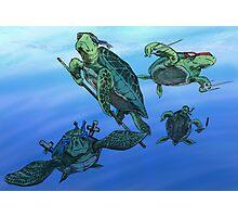 Ninja Turtles Photographic Print