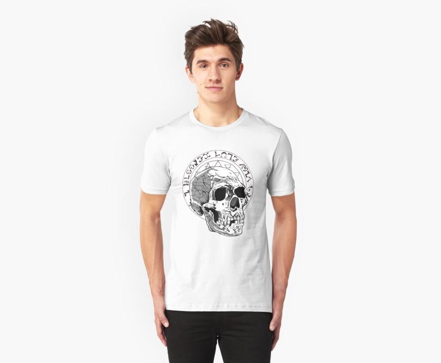 Black Majik Skull by MontyBorror