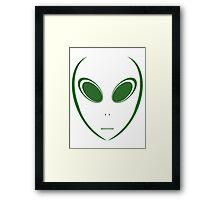 Alien 15 Green Framed Print