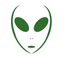 Alien 16 Green Photographic Print