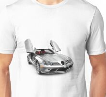 Mercedes Benz SLR McLaren super car T-shirt design Unisex T-Shirt
