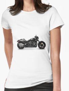 Harley Davidson VRSCD Night Rod Special motorbike T-shirt design Womens Fitted T-Shirt