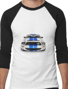 2008 Shelby Ford GT500KR sports car T-shirt design Men's Baseball ¾ T-Shirt