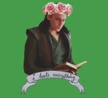 Loki and Flowers Kids Clothes
