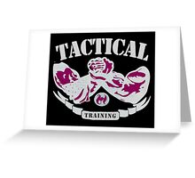 Tactical Traning Greeting Card