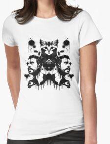 Bastille Kyle Inkblot Womens Fitted T-Shirt