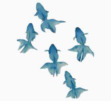Blue Goldfish by Abigail Kim