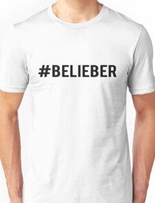#Belieber Unisex T-Shirt