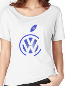 volkswagen and apple Women's Relaxed Fit T-Shirt