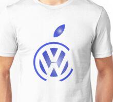 volkswagen and apple Unisex T-Shirt