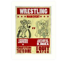 Jaycee VS R. Mika Art Print
