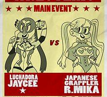 Jaycee VS R. Mika by sailorswayze