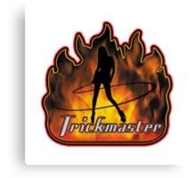Trickmaster Logo Canvas Print