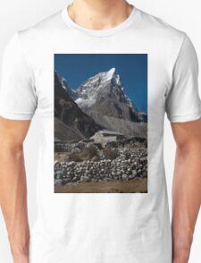 Stone House - Foothills of Everest.  Unisex T-Shirt