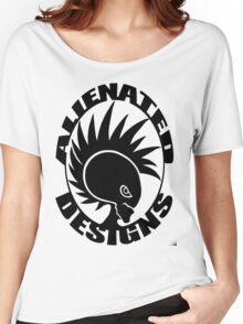 Alienated Designer Logo Women's Relaxed Fit T-Shirt