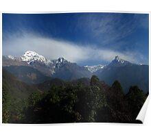 Annapurna South & Machapuchare Poster