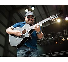 Zac Brown #2 Photographic Print