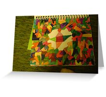 triangle square Greeting Card