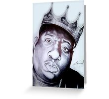 Biggie Smalls Greeting Card