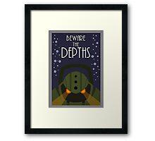League of legends Nautilus - Beware the depths! Framed Print