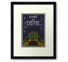 League of legends Nautilus - Beware the depths! Framed Print