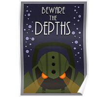 League of legends Nautilus - Beware the depths! Poster