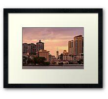 West Palm Beach Architecture Framed Print